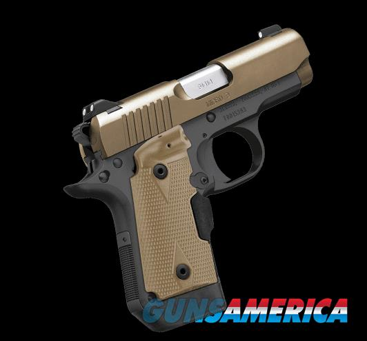 Kimber Micro 9 Desert Tan LG!!! Don't miss out on this Special Edition from Kimber!!!  Guns > Pistols >  Kimber of America Pistols > Micro 9