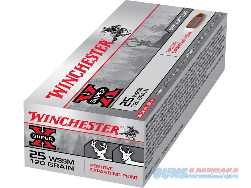 WINCHESTER 25 WSSM 20RDS  120GR POSITIVE EXPANDING POINT!!!  Non-Guns > Ammunition