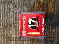 17 HMR HONADY VMAX AMMO 500 ROUND CASE!!!/ NO ADDITIONAL CHARGES FOR CREDIT CARDS!!  Non-Guns > Ammunition
