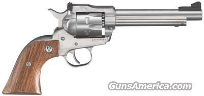 RUGER  REVOLVER KNR5 22 5.5 SGL SS AS  Guns > Pistols > Ruger Double Action Revolver > Security Six Type