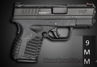Springfield XDS 9mm !!Free Shipping/No Additional Fees For Credit Cards!!!!  Guns > Pistols > Springfield Armory Pistols > XD-S