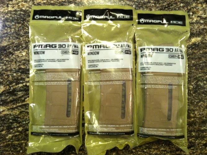 3 Magpul Pmag 30 FDE w/window FREE SHIPPING AR15 Mag m4 m16 ar-15  Non-Guns > Magazines & Clips > Rifle Magazines > AR-15 Type