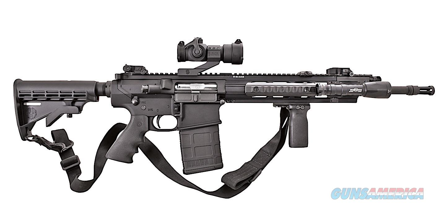 Ruger SR-762 W/4-14-44 APLR2 Illuminated Reticle Mil-Dot optic & Burris AR-P.E.P.R Mounting System & 2 Boxes of Premium Ammo!!!  Guns > Rifles > Ruger Rifles > SR Series