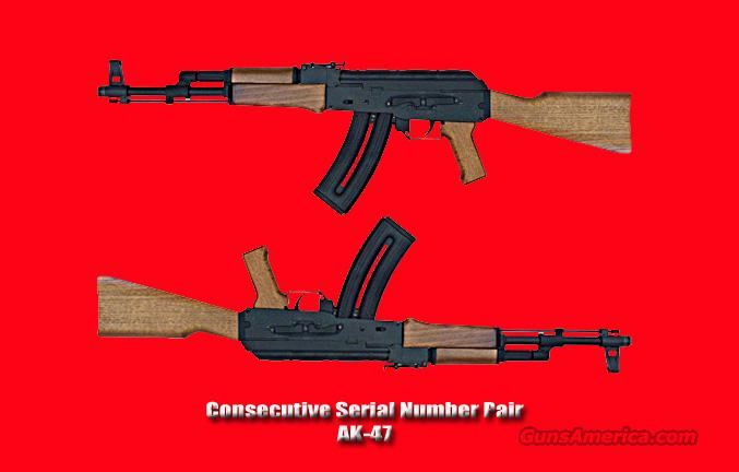 AK-47 Matched Pair Consecutive Serial Numbers in .22LR  Guns > Rifles > AK-47 Rifles (and copies) > Full Stock