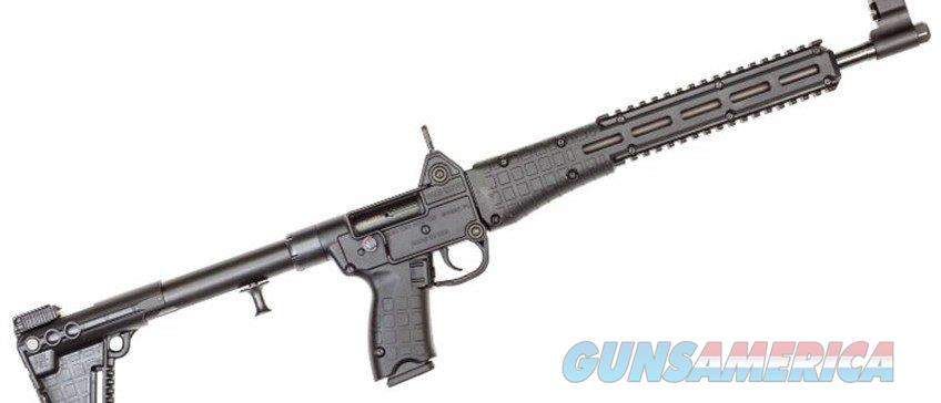 "Kel-Tec, Model Sub 2K Gen 2, 9 Carbine, Semi-automatic Rifle, 9MM, 16.1"" Barrel, Blue Finish, Black Stock, Adjustable Sights, 17Rd, For Glock OEM 17 Magazine, Quad Rail  Guns > Rifles > Kel-Tec Rifles"
