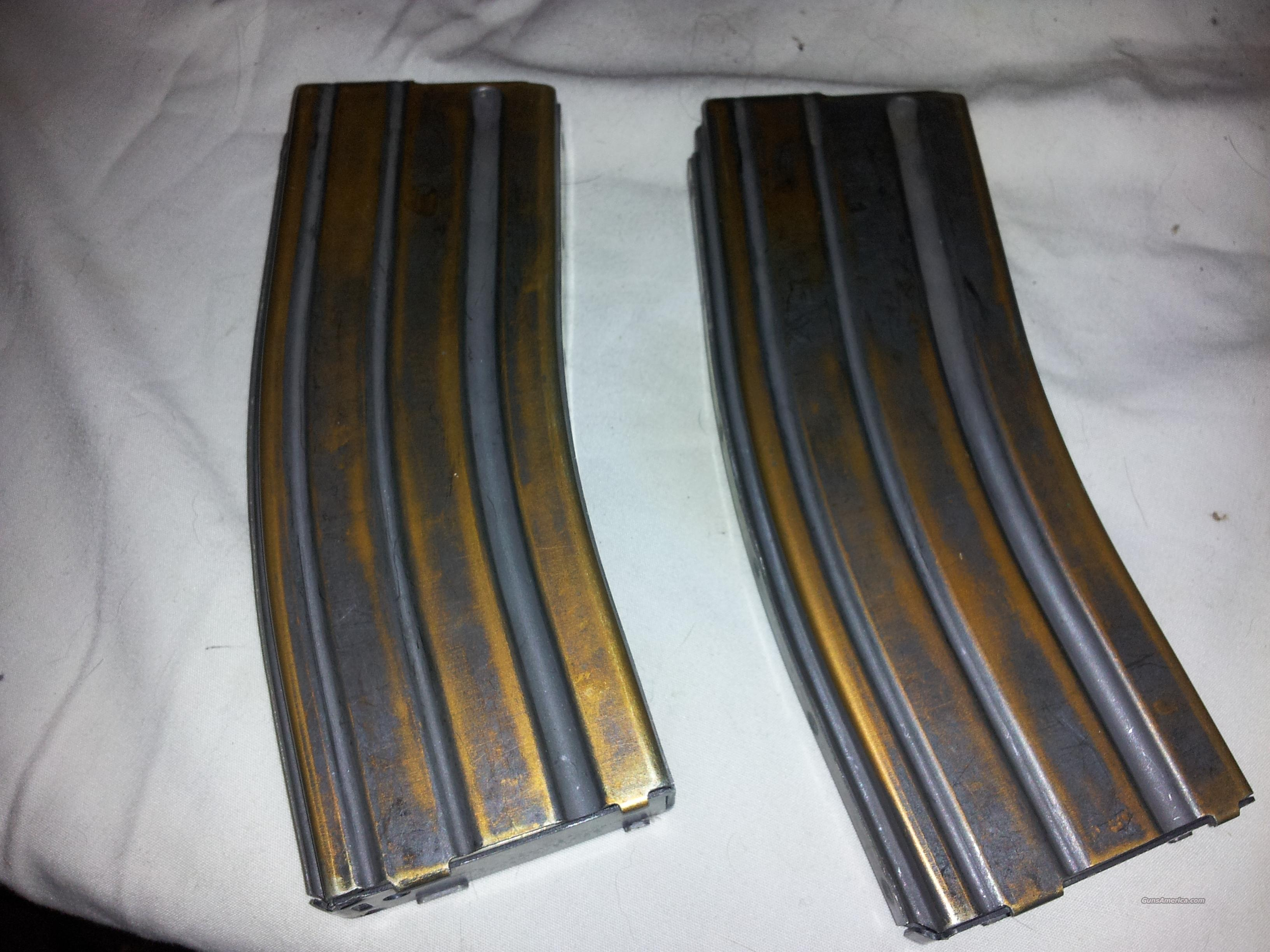 Lot of 2 Colt AR15/M4 30Rd Magazines  Non-Guns > Magazines & Clips > Rifle Magazines > AR-15 Type