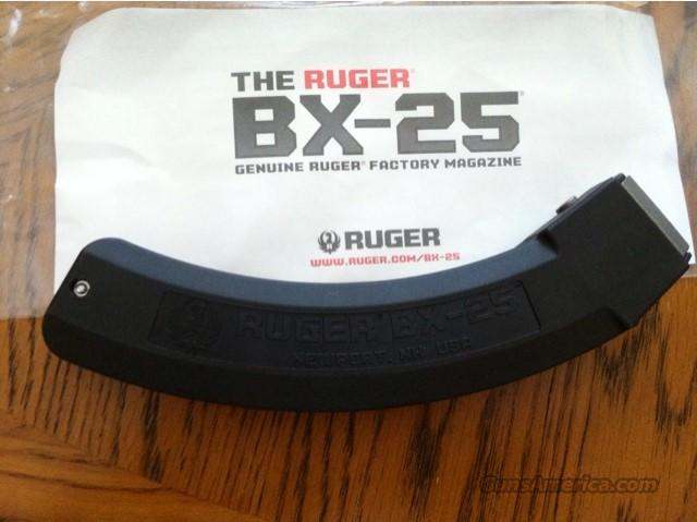 Ruger 10-22 25 Round BX-25 NEW FACTORY 10/22 MAGAZINE  Non-Guns > Magazines & Clips > Rifle Magazines > 10/22