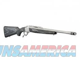 Ruger #1 .450 Bushmaster Gray Laminate Stainless Steel w/Brake NIB  Guns > Rifles > Ruger Rifles > #1 Type