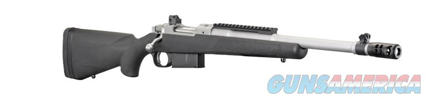 Ruger Gunsite Scout .450 Bushmaster Stainless Steel Synthetic  Guns > Rifles > Ruger Rifles > Gunsite