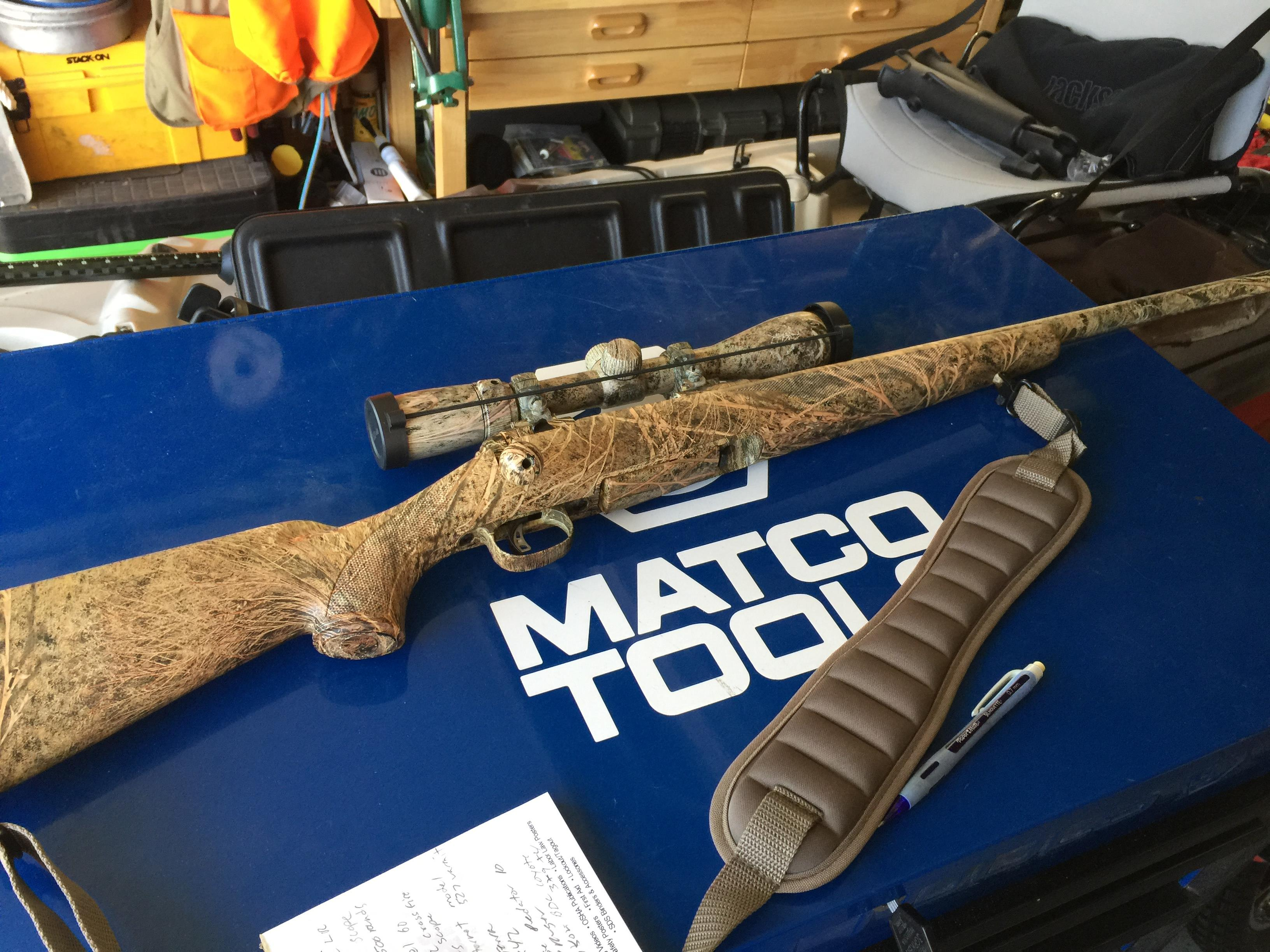 Savage Predator 10/Nikon Coyote Special 3-9X40 both in Brush Camo   Guns > Rifles > Savage Rifles > 10/110