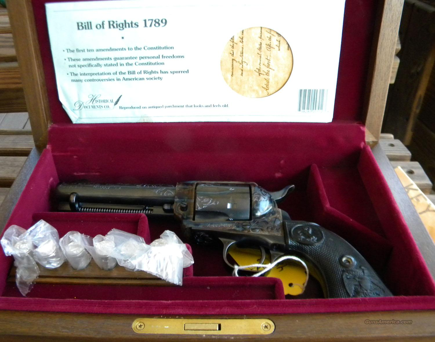 Colt .45 Commemorative Charlton Heston/NRA editon  Guns > Pistols > Colt Commemorative Pistols