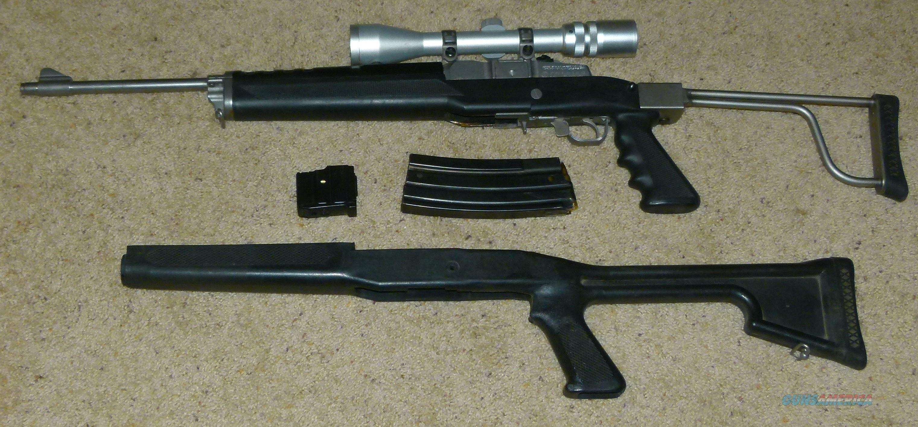 Stainless Mini 14 in .223 with Stainless scope-REDUCED  Guns > Rifles > Ruger Rifles > Mini-14 Type