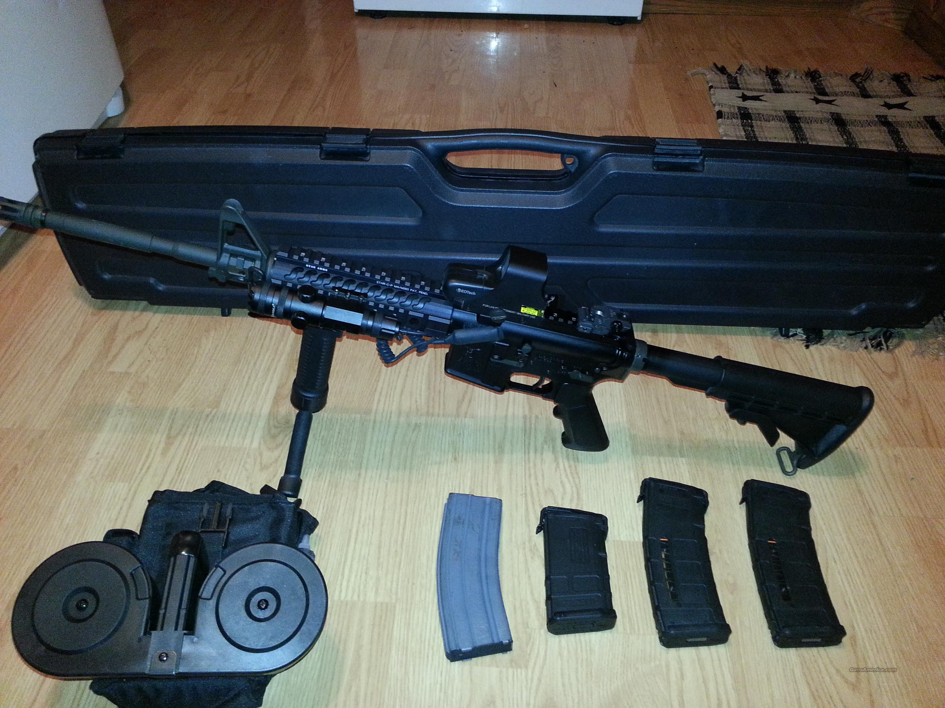 AR-15 Stag Model M2T With Beta-C Mag , EOTech sight and More  Guns > Rifles > Stag Arms > Complete Rifles