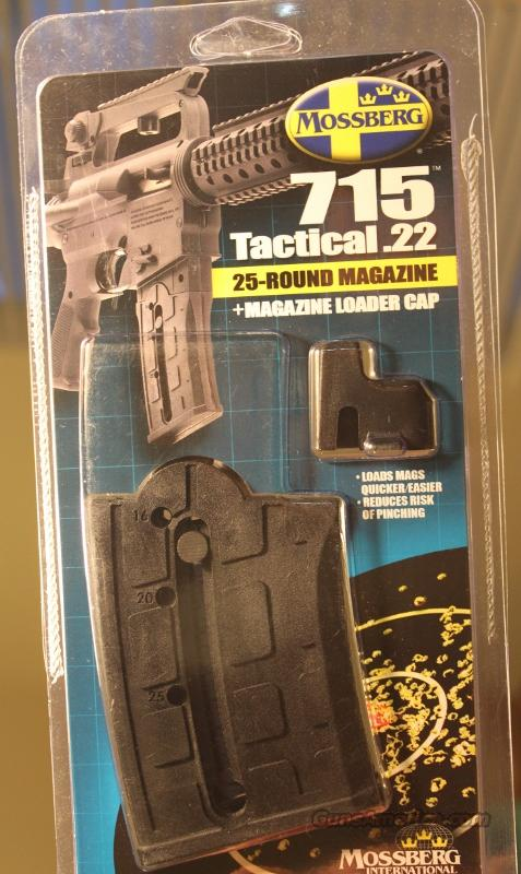 MOSSBERG 715 TACTICAL .22LR  25 RD MAGAZINE  Non-Guns > Magazines & Clips > Rifle Magazines > Other