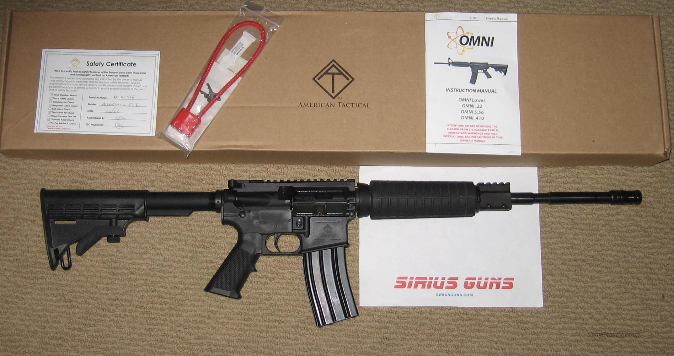 American Tactical AR15 OMNI Poly M4 AR-15  Guns > Rifles > AR-15 Rifles - Small Manufacturers > Complete Rifle