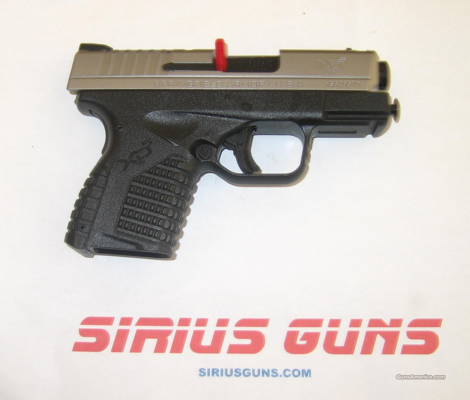 Springfield XDS Stainless Slide 45 ACP 5+1   Guns > Pistols > Springfield Armory Pistols > XD-S