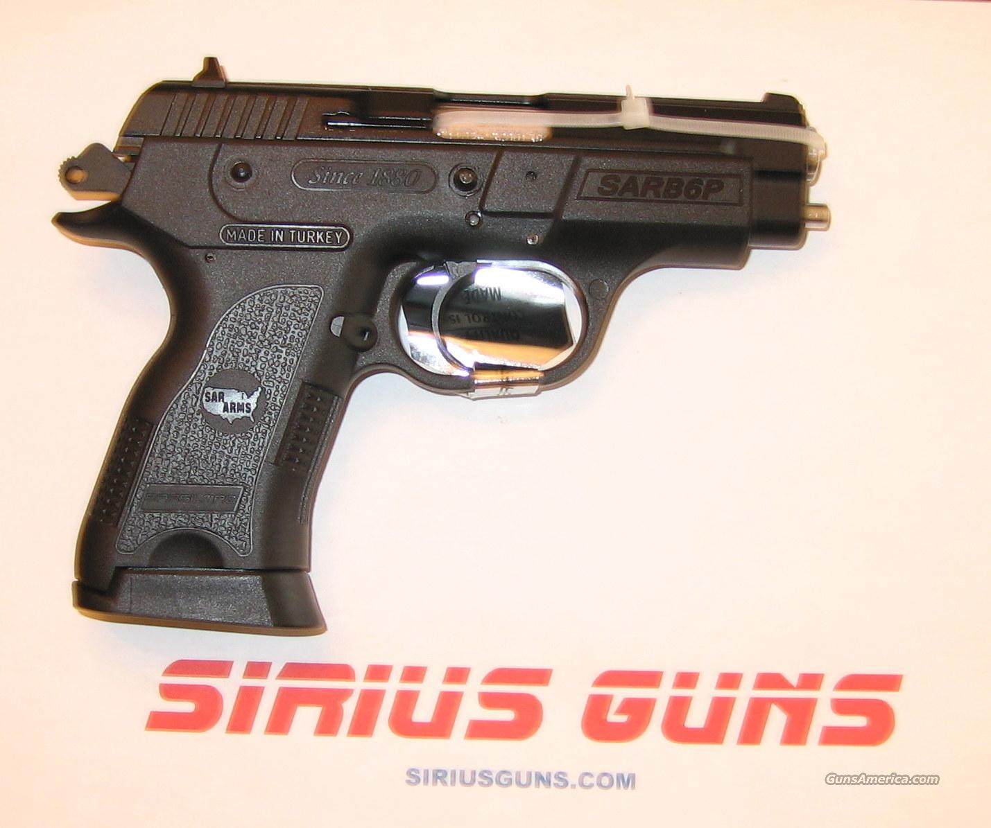 "EAA SAR B6 P 9mm 3.8""B 13+1 B6P W/ 2 MAGS  Guns > Pistols > EAA Pistols > Other"