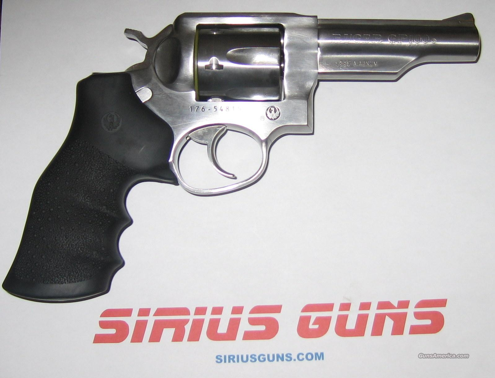 "RUGER GP100  357 Magnum Hogue Monogrip 4"" Barrel 6 rd  Guns > Pistols > Ruger Single Action Revolvers > Single Six Type"