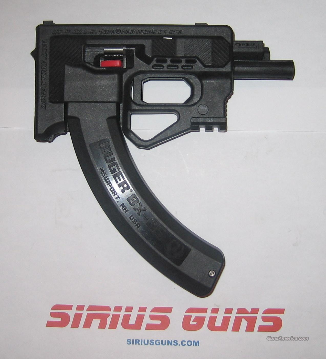 U.S. Firearms ZIP22  w/ RUGER BX-25 Factory Mag ZIP 22  22LR  Guns > Pistols > United States Patent Firearms Revolvers/Pistols
