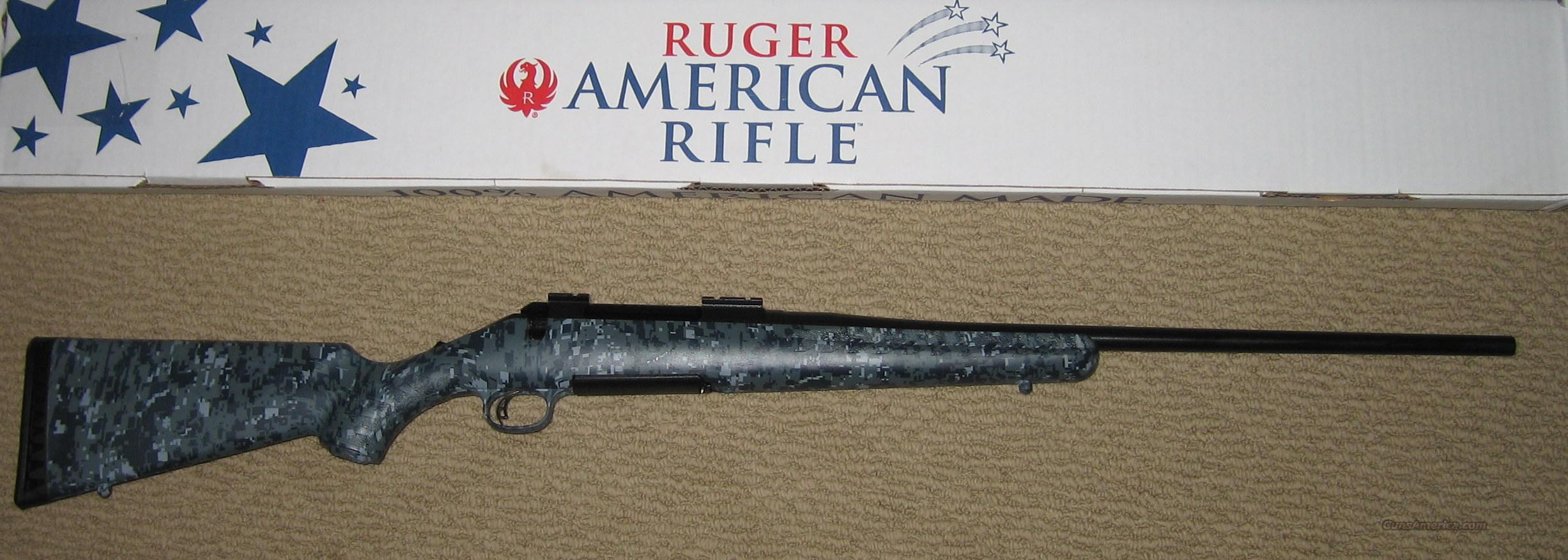 RUGER American LIMITED EDITION Navy Digital Camo 270 Winchester  Guns > Rifles > Ruger Rifles > American