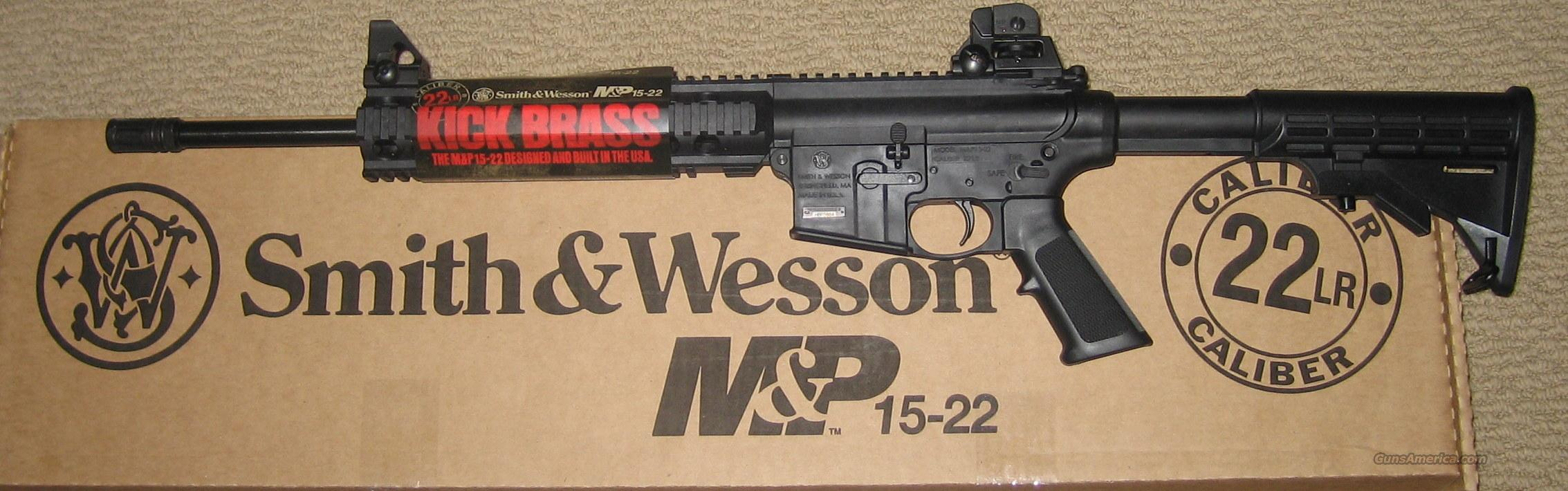 Smith & Wesson M&P 15-22 A1 Sights 22 LR 25+1 AR-15 style AR15  Guns > Rifles > Smith & Wesson Rifles > M&P