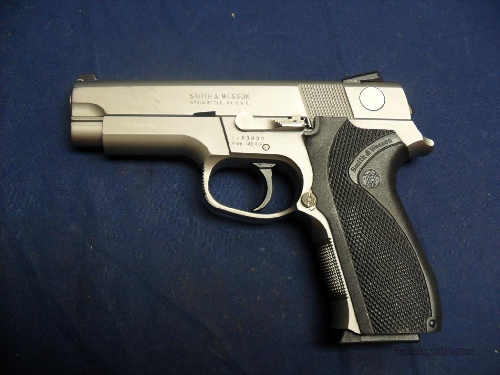 Smith & wesson Mod 4046, SS.40S&W, ECc.  Guns > Pistols > Smith & Wesson Pistols - Autos > Steel Frame