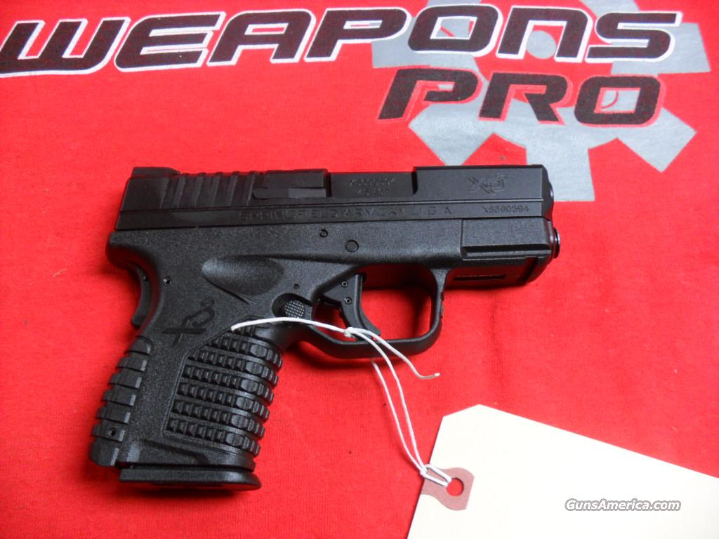 Springfield XDS-45, NIB with all Gear  Guns > Pistols > Springfield Armory Pistols > XD-S