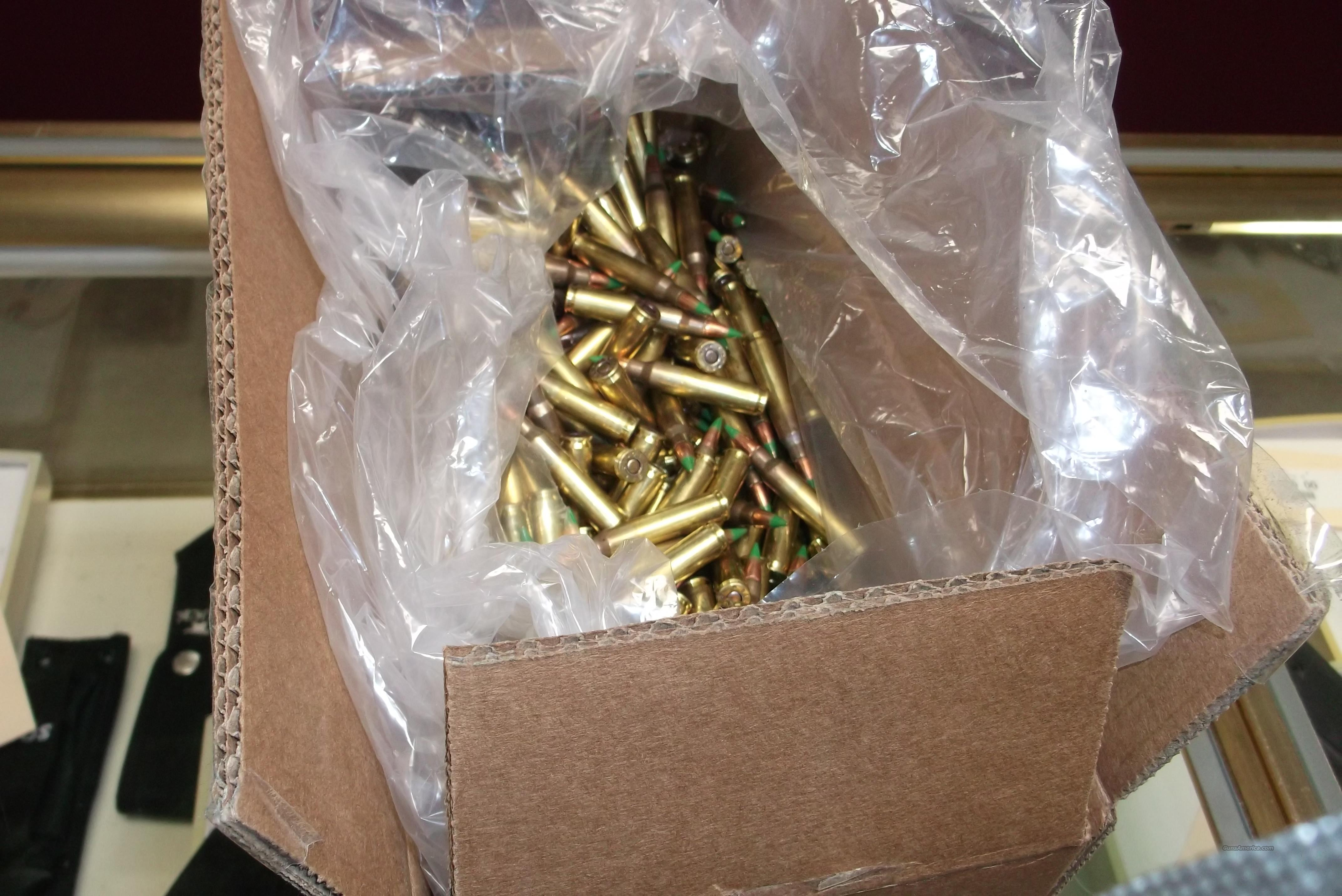 Federal 5.56 XM855 1000RD LOOSE PACKED Green Tip  Non-Guns > Ammunition