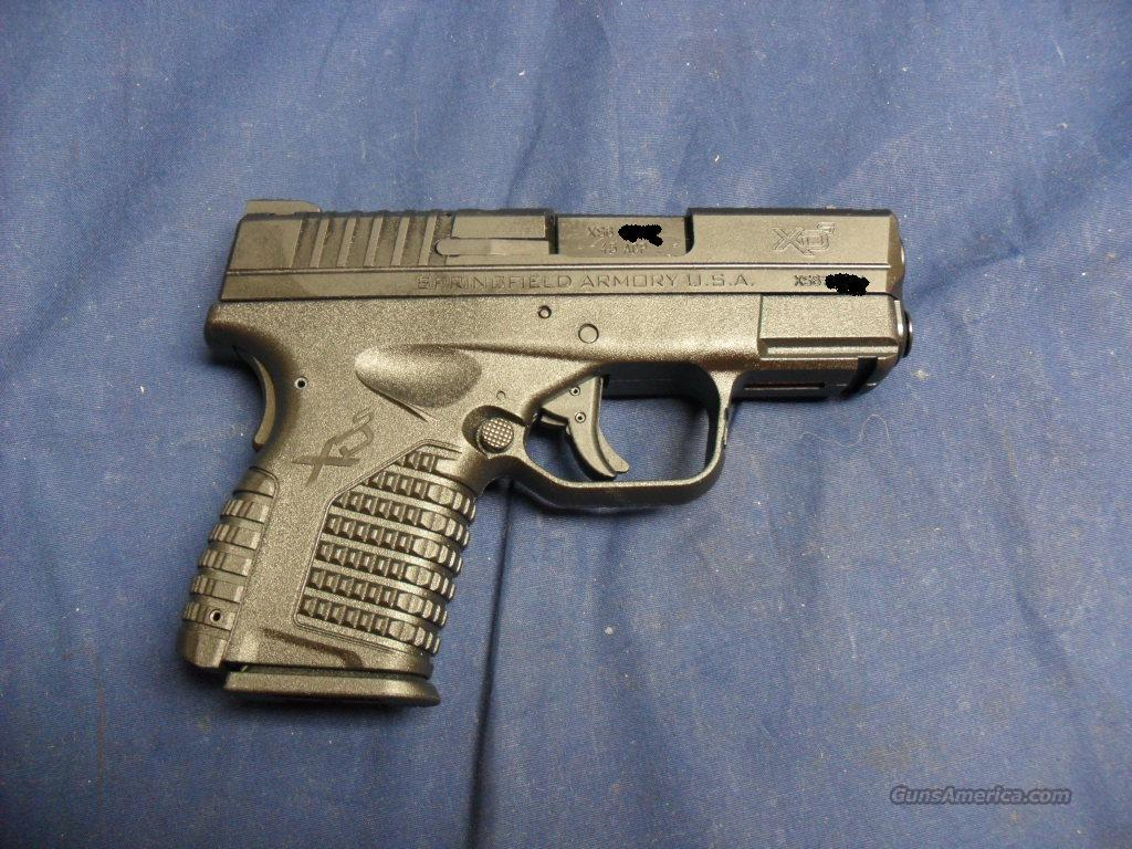 "Springfield XDS-45, 3.3""Brl, 2 mags & gea  Guns > Pistols > Springfield Armory Pistols > XD-S"