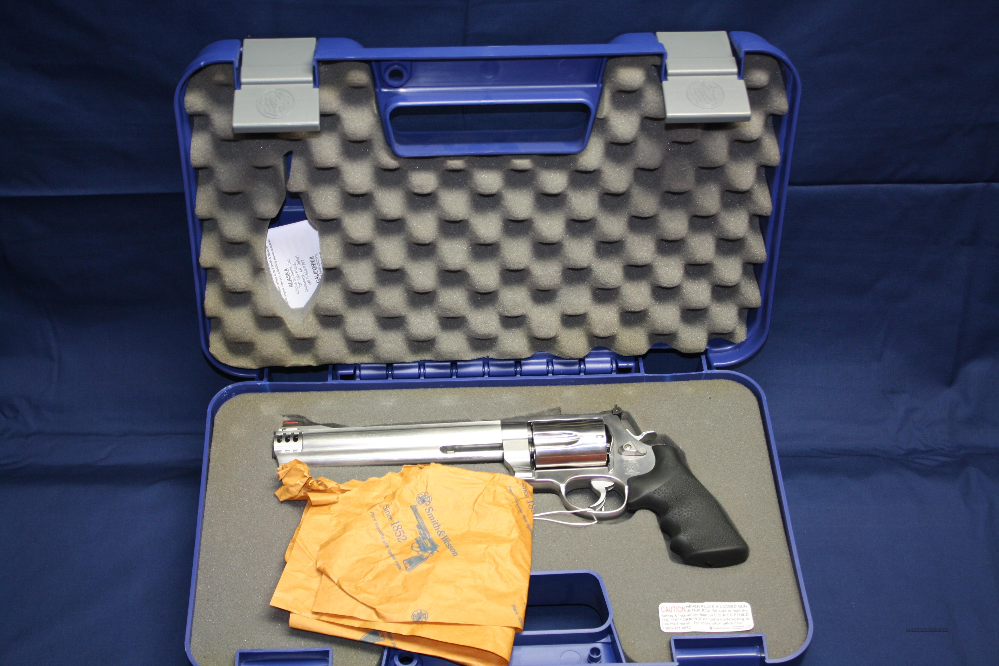 Smith&Wesson 500 Magnum  Guns > Pistols > Smith & Wesson Revolvers > Full Frame Revolver