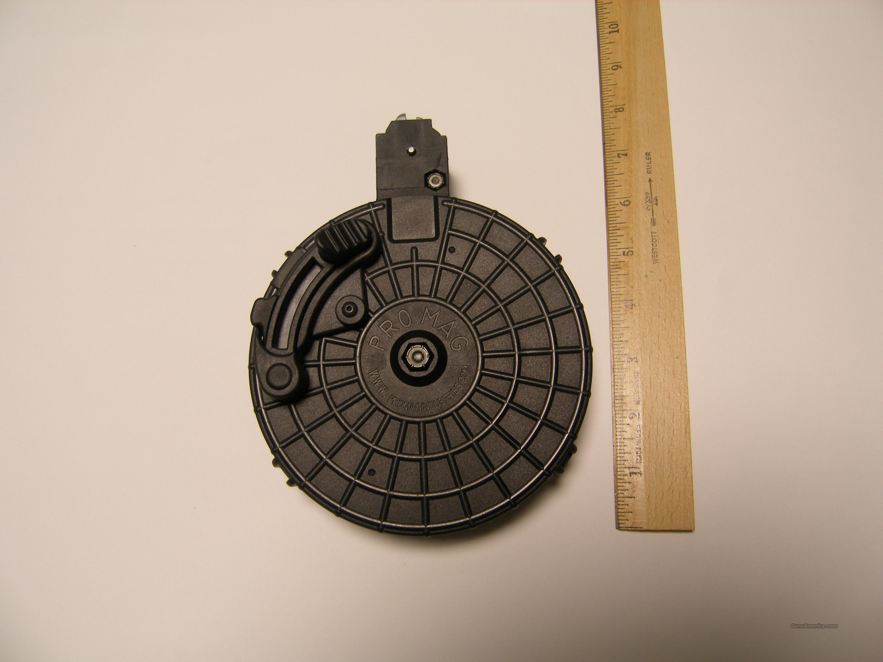Ruger 10/22 50 Round Drum Magazine, Promag, Black, New  Non-Guns > Magazines & Clips > Rifle Magazines > 10/22