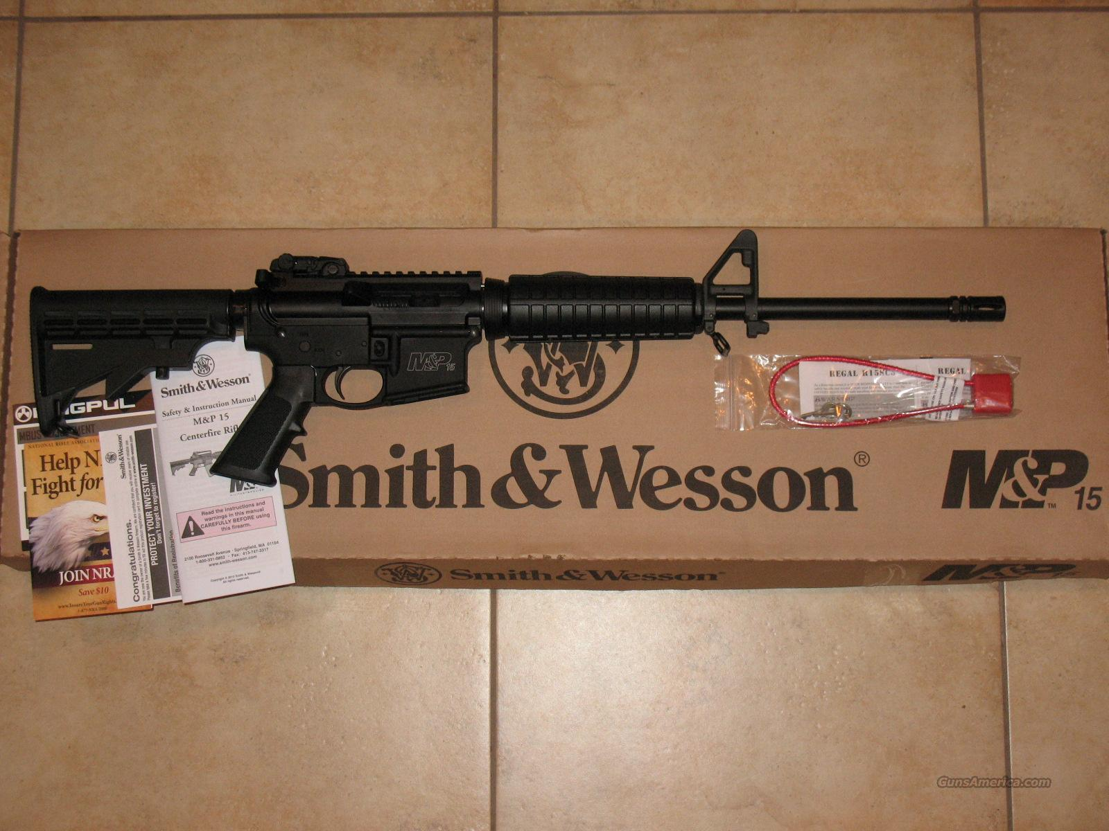 New Smith & Wesson M&P AR15 Carbine 5.56 S&W  Guns > Rifles > AR-15 Rifles - Small Manufacturers > Complete Rifle