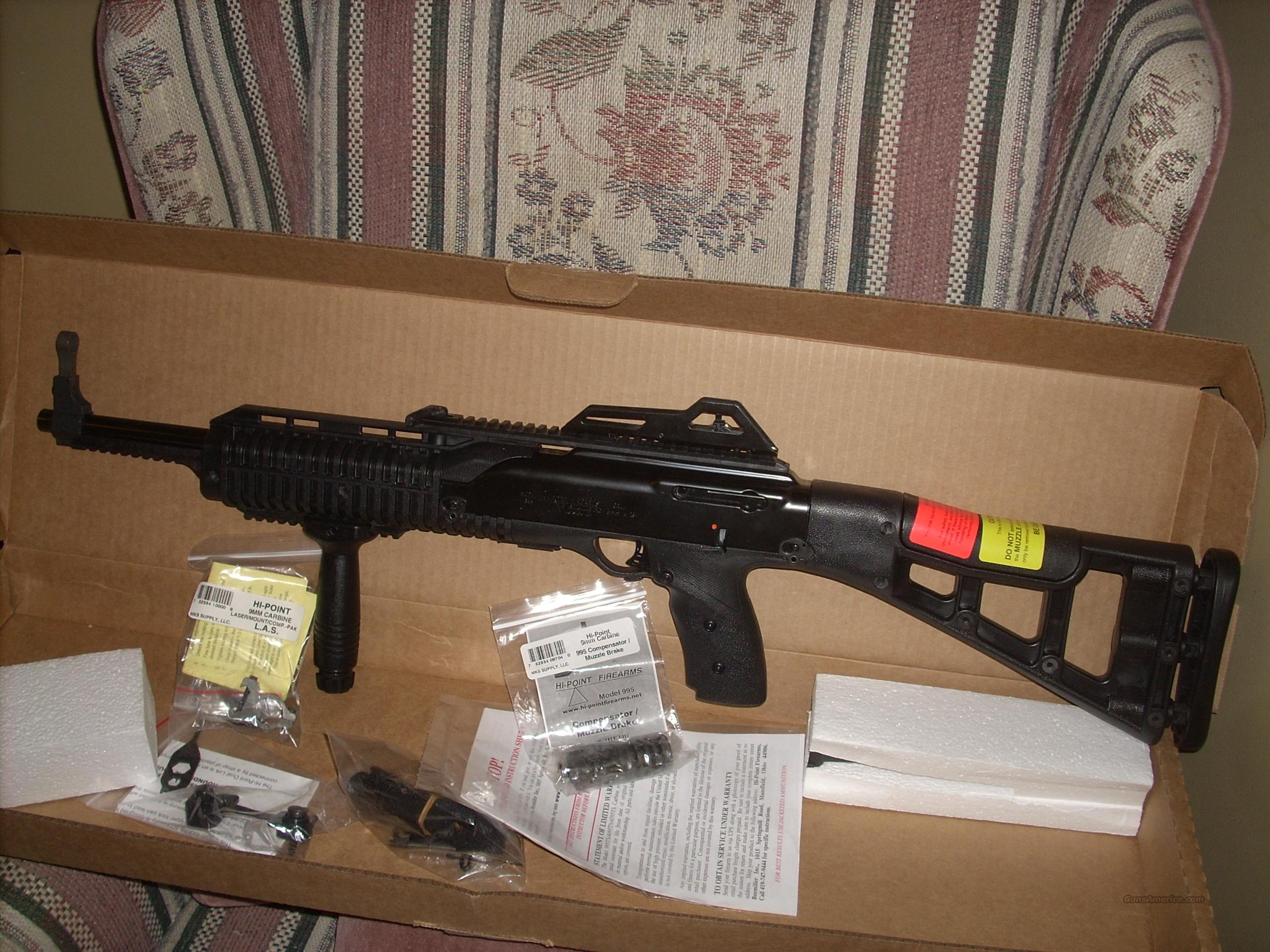 HI POINT 995TS CARBINE W/laser sight  Guns > Rifles > Hi Point Rifles