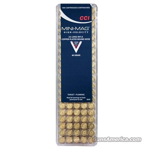 22 lr 22 LR AMMO CCI Mini Mag Ammunition 40GR 200 RDS  Non-Guns > Ammunition