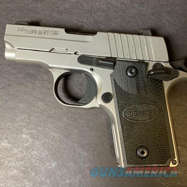 Sig Sauer P238 .380 Stainless w/Black Grips  Guns > Pistols > Sig - Sauer/Sigarms Pistols > P238