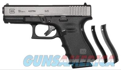 Glock 19 Gen 4 in box with 3 15-round magazines New  Guns > Pistols > Glock Pistols > 19