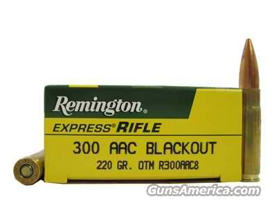 Rem 300BLKOUT 220gr sub sonic OTM/ 200rds / FREE SHIP with Buy It Now   Non-Guns > Ammunition