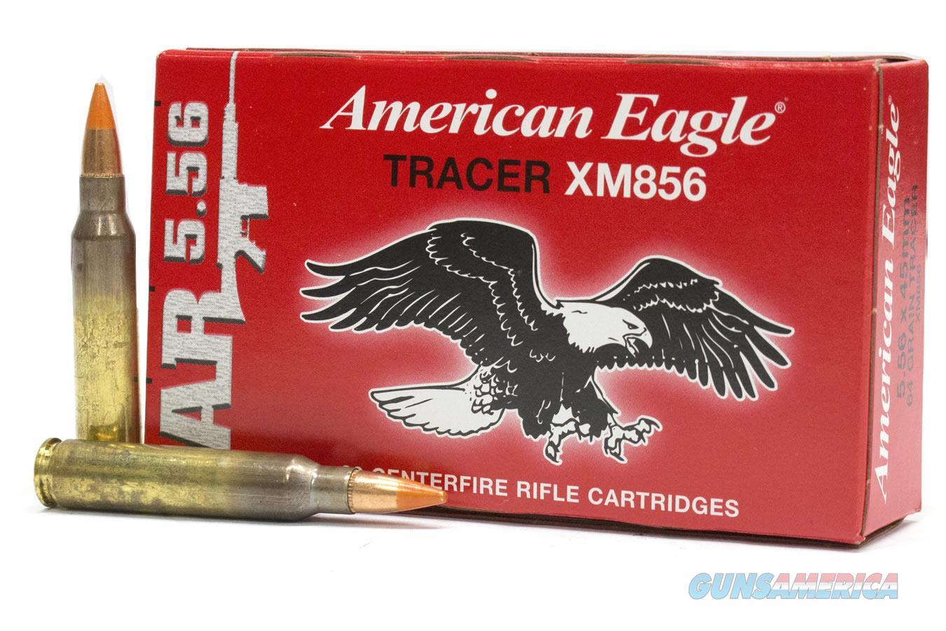 Federal American Eagle 5.56 NATO Tracer/ 500rd case  Non-Guns > Ammunition