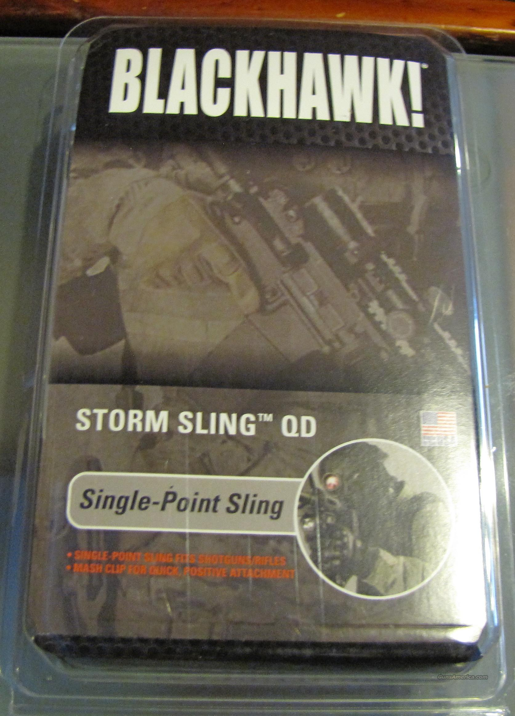 BlackHawk Storm single point QD sling/BLK/ Free Ship & No CC Fees with Buy It Now  Non-Guns > Gun Parts > M16-AR15