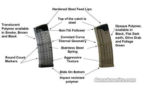 Lancer L5AWM 30rd. Translucent 3 pack/FREE SHIP  Non-Guns > Magazines & Clips > Rifle Magazines > AR-15 Type