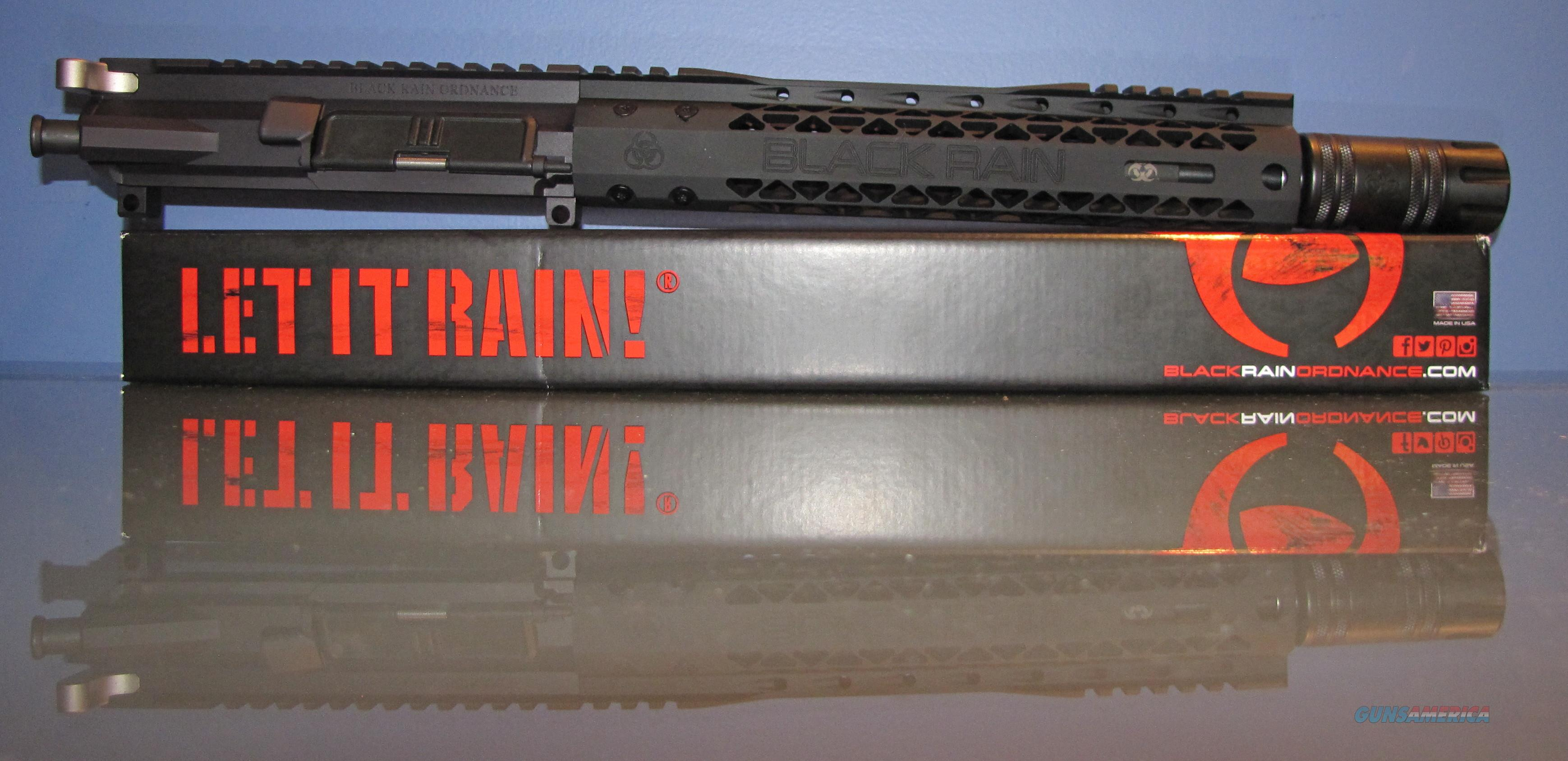 "BLACK RAIN ORDNANCE SPEC15 5.56 10.5"" SBR/Pistol AR15 UPPER / UPGRADED  Non-Guns > Gun Parts > M16-AR15 > Upper Only"