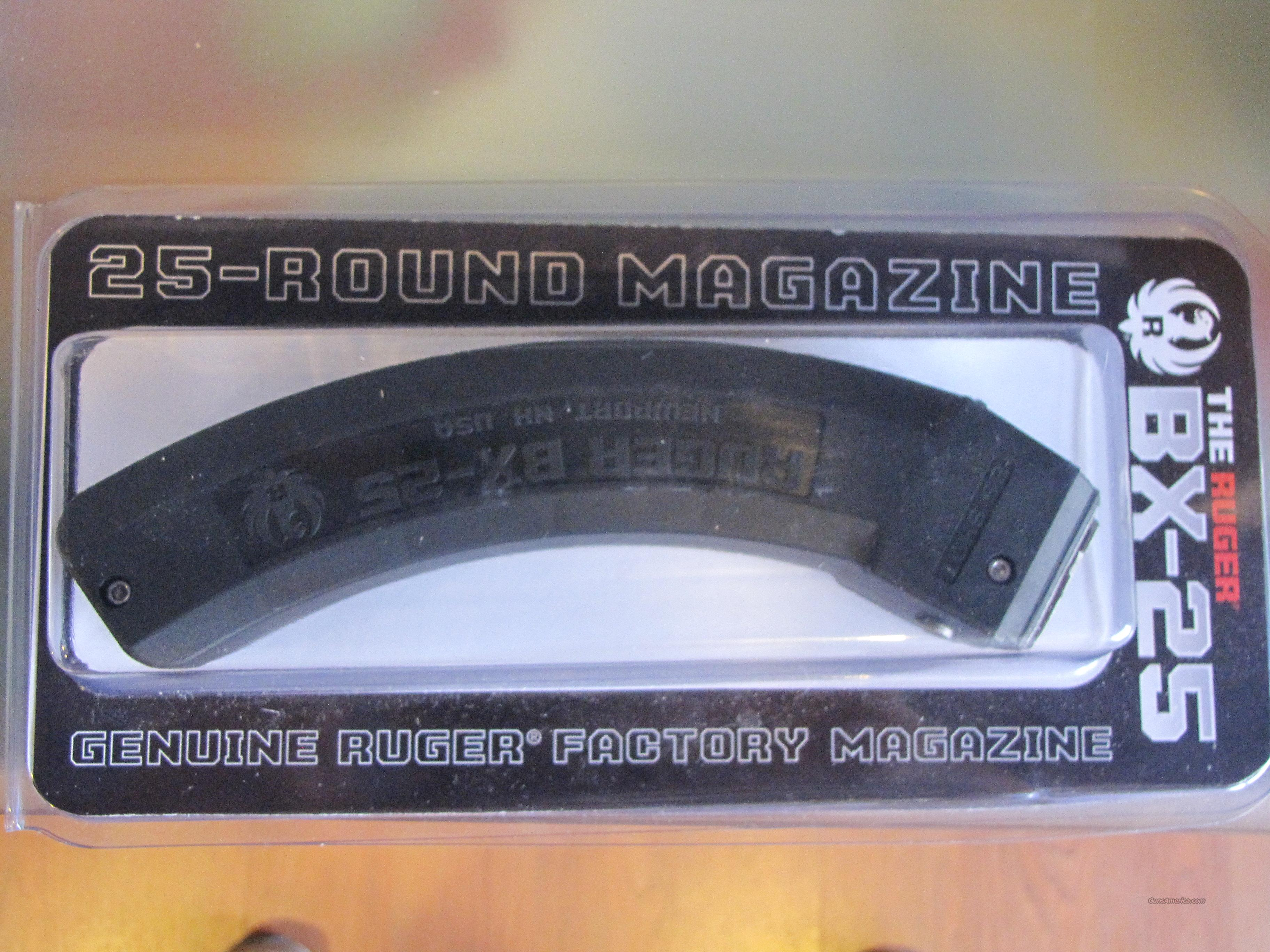 Ruger BX-25 mag  Non-Guns > Magazines & Clips > Rifle Magazines > 10/22