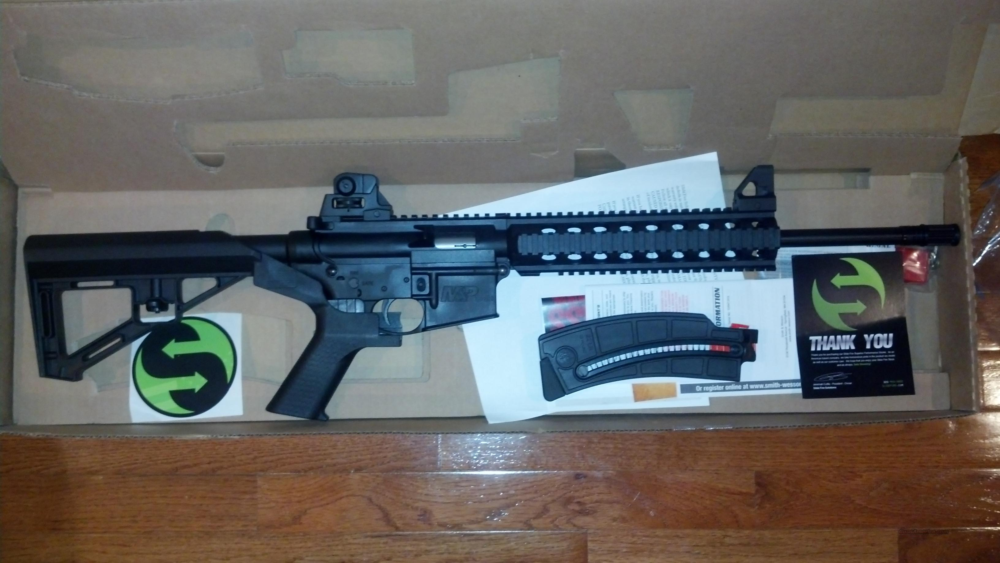 Smith & Wesson M&P 15 22 modified by Slide Fire Solutions   Guns > Rifles > Smith & Wesson Rifles > M&P