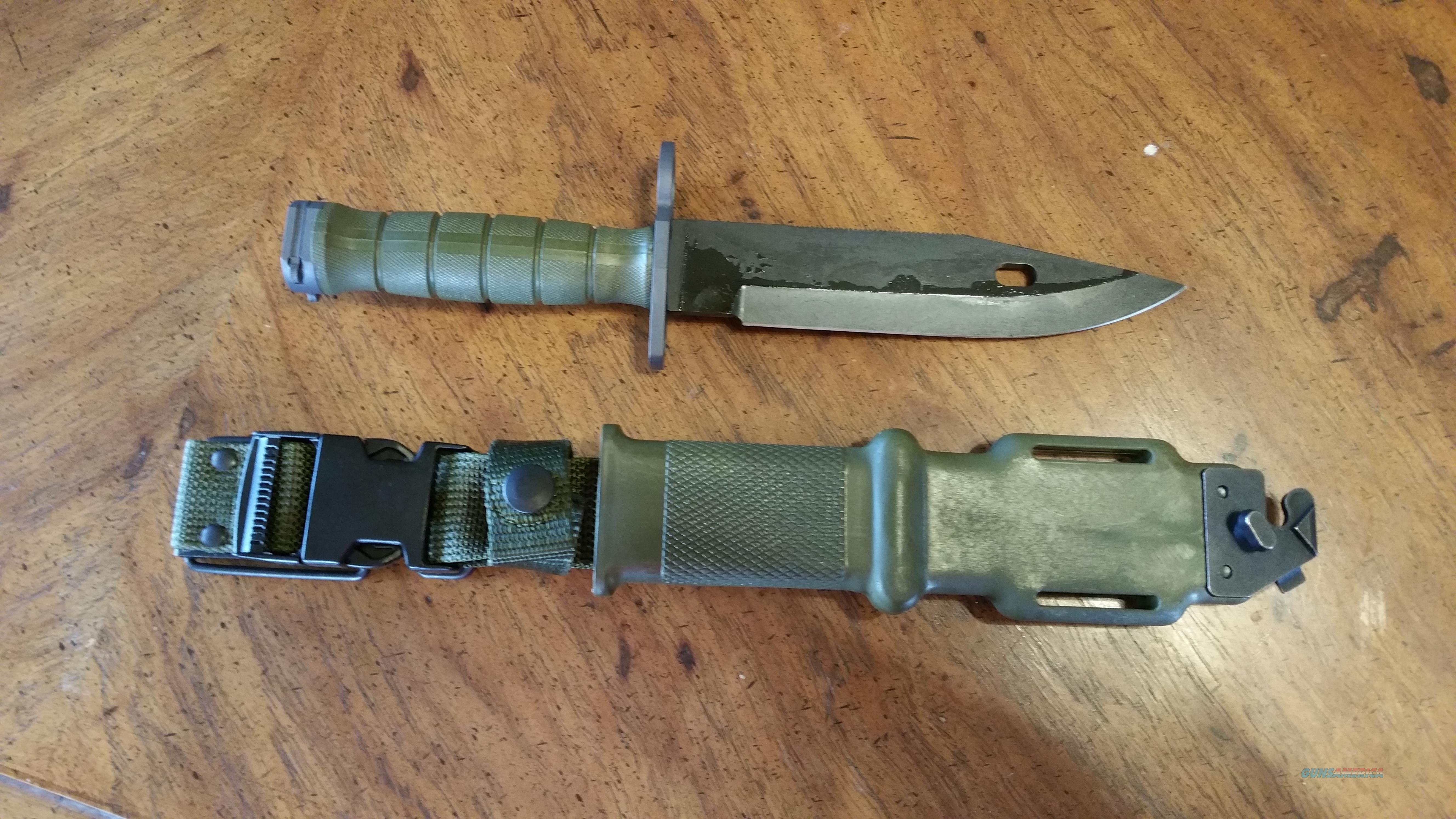 USGI M9 Bayonet - New  Non-Guns > Knives/Swords > Military > Bayonets