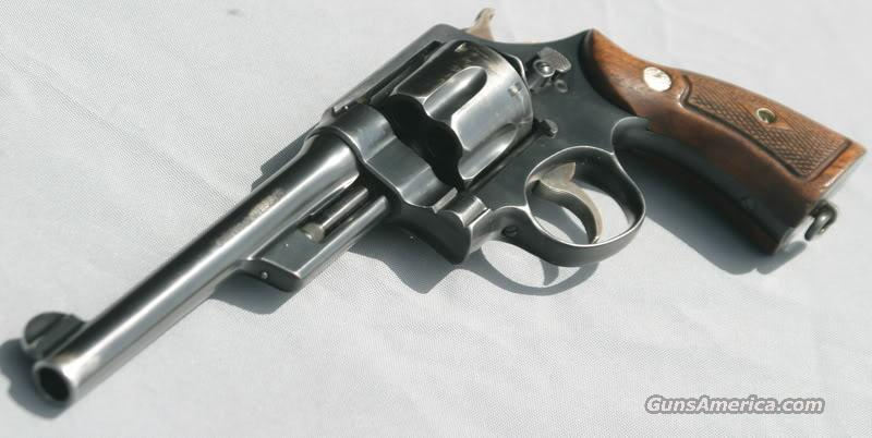 S&W 3rd HE 44 Special Washington State Patrol  Guns > Pistols > Smith & Wesson Revolvers > Pre-1945