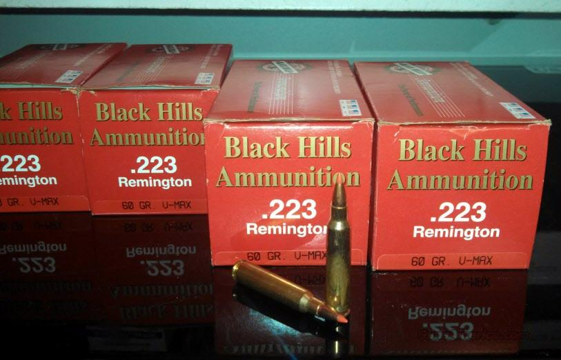 BLACK HILLS 60 grain V-Max 100 Rounds  Non-Guns > Ammunition