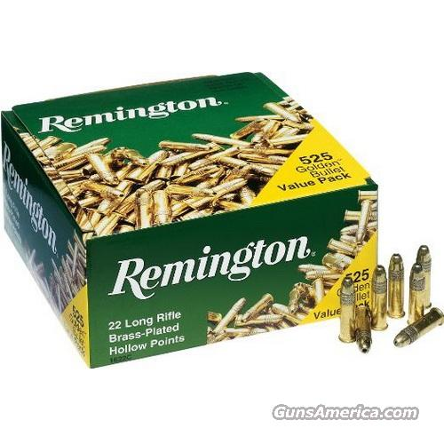 .22 LR Ammo 2,625rd (5 bricks) Remington JHP 22lr  Non-Guns > Ammunition
