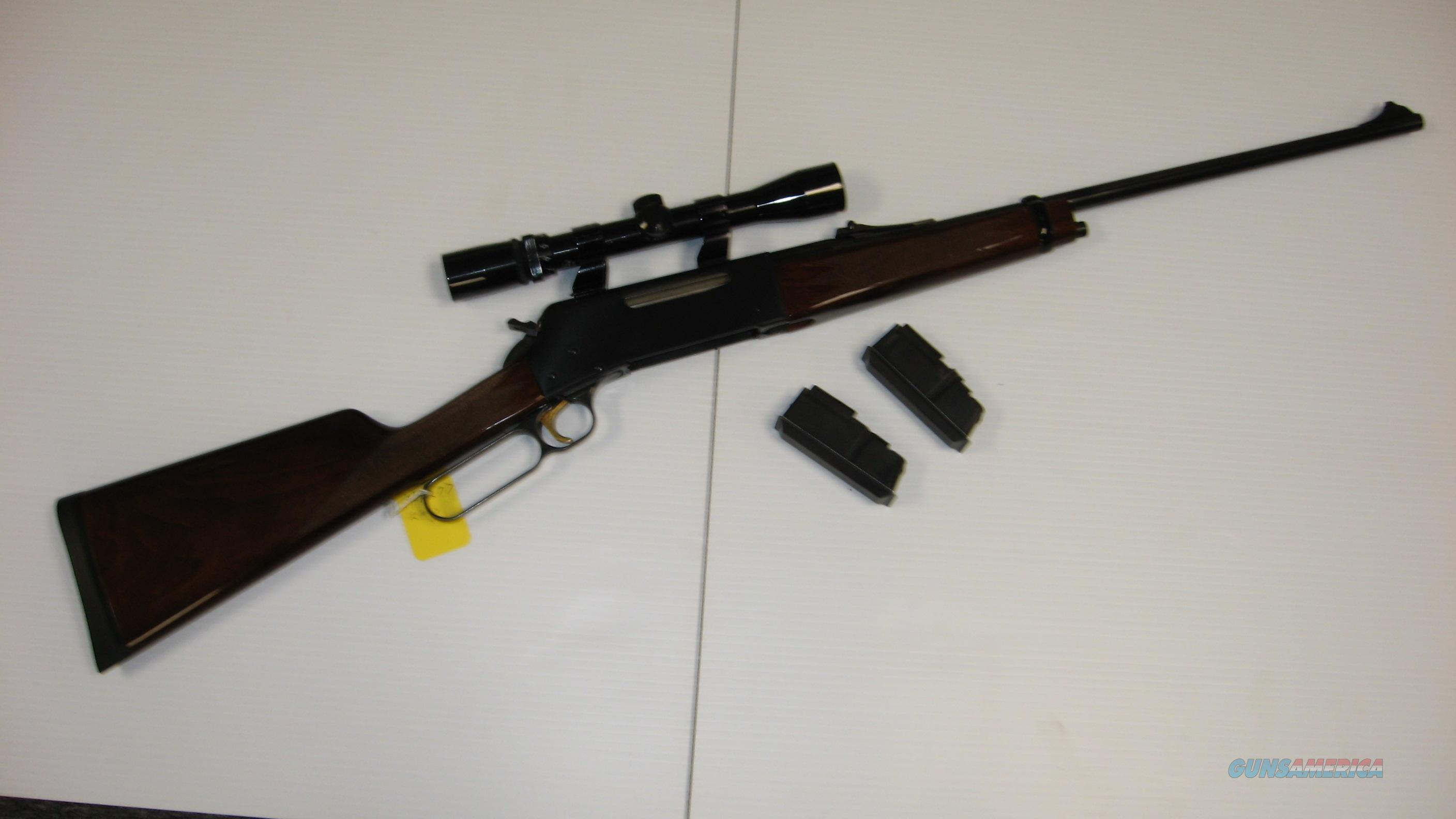 BROWNING  81L BLR W/SCOPE L/A RIFLE  Guns > Rifles > Browning Rifles > Lever Action