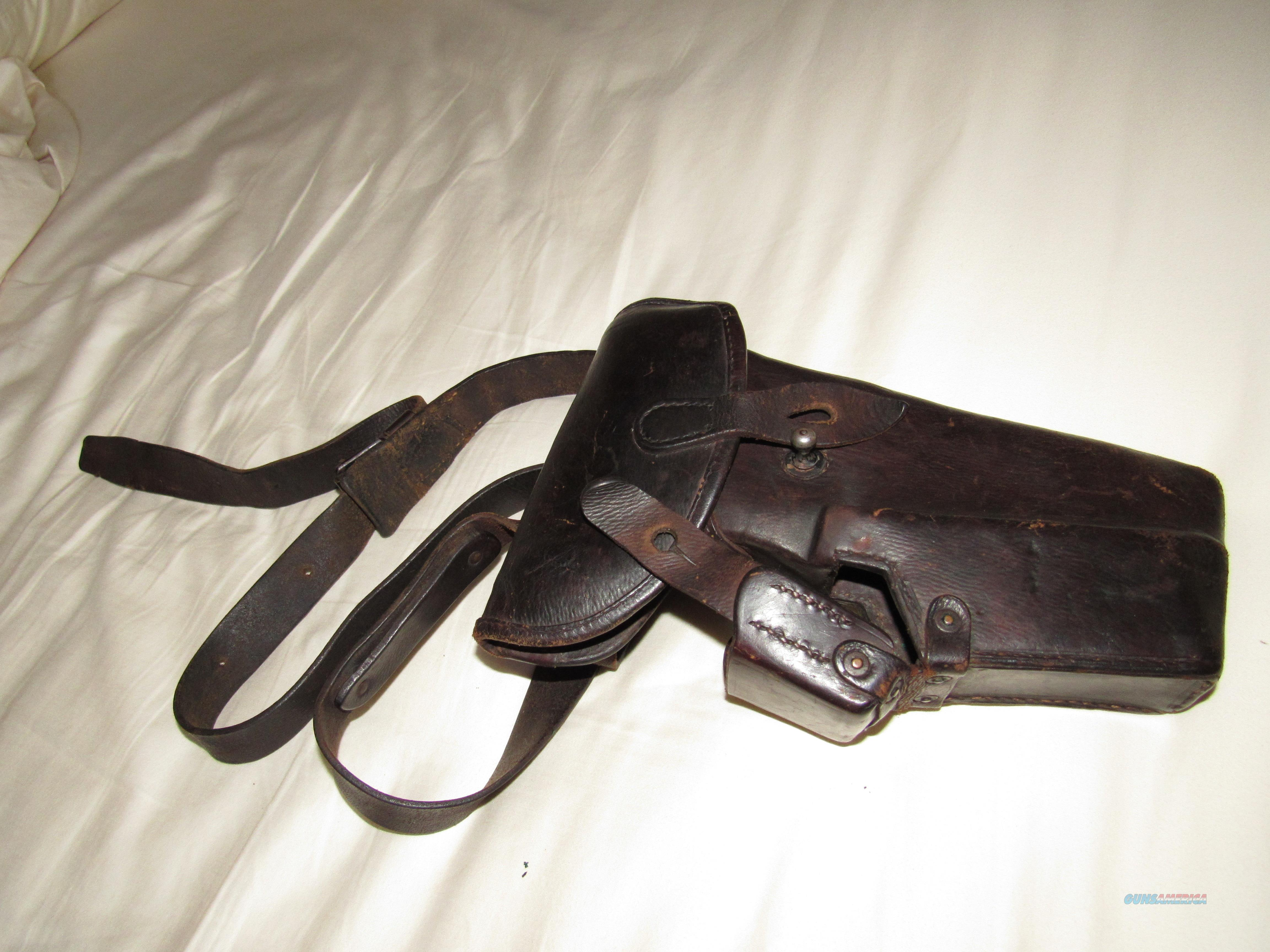 Steyr 1907 Holster   Non-Guns > Holsters and Gunleather > Military