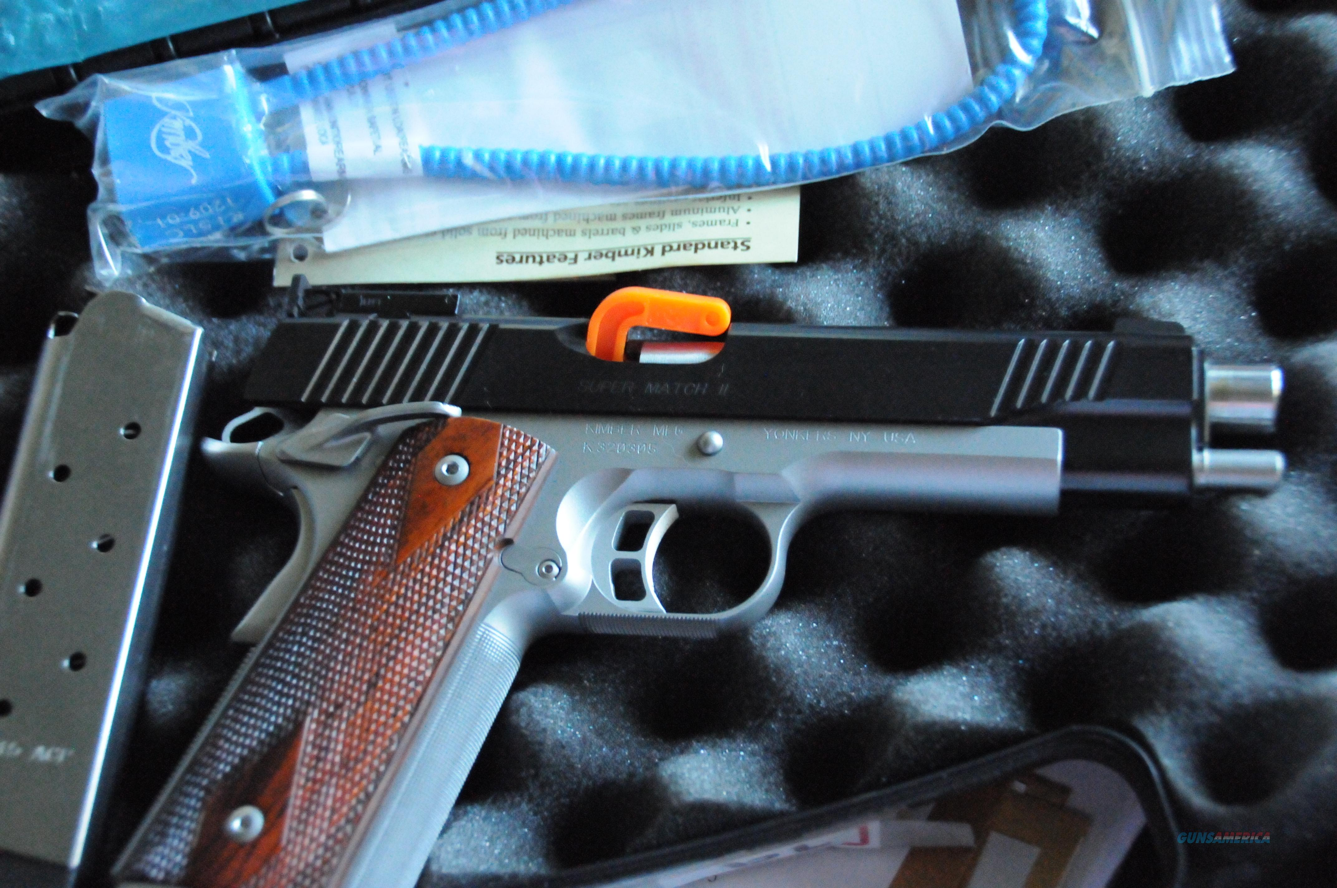 kimber super match II mint condition  Guns > Pistols > Kimber of America Pistols